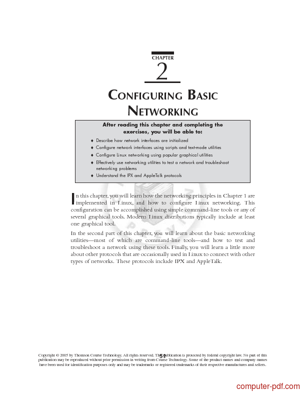 Tutorial Configuration Basic Networking