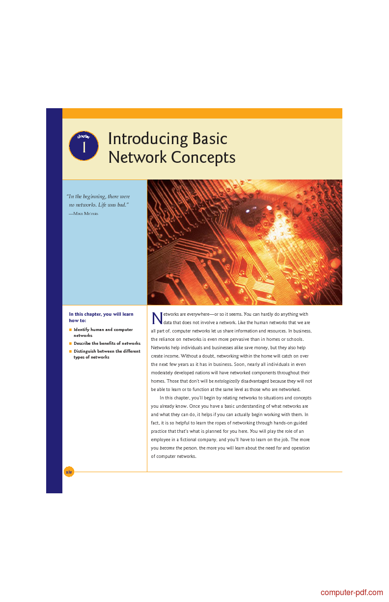 Pdf  Introducing Basic Network Concepts Free Tutorial For Beginners
