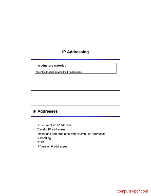 Learn ip addressing and subnetting pdf