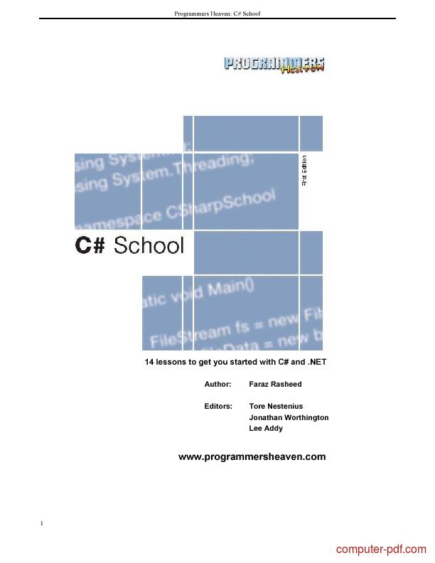 Map in c# tutorial pdf free