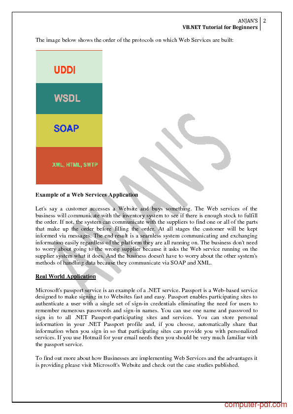 Soap Tutorial Pdf