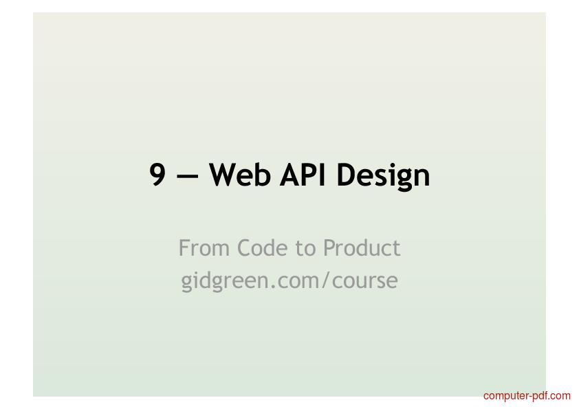 Course web pdf designing