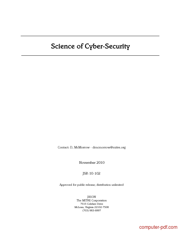 Cyber security tutorial pdf free download