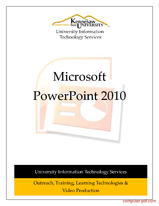 Ms Powerpoint 2010 Tutorial Pdf