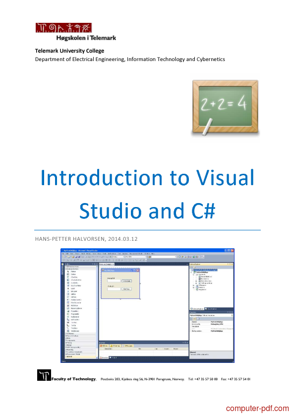 Visual Studio Hands-On Tutorial