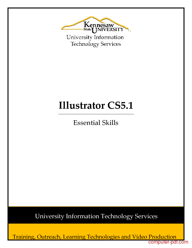 adobe illustrator cs5 tutorials for beginners pdf free download