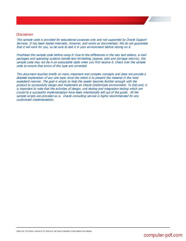 oracle database tutorial pdf