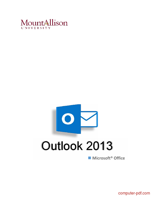 Outlook pdf office ms