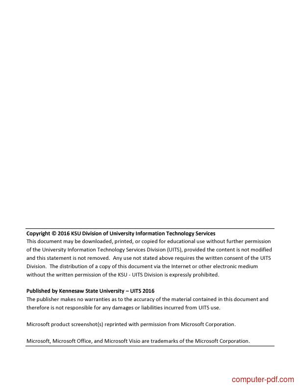 pdf introduction to visio 2016 free tutorial for beginners rh computer pdf com Microsoft Visio 2013 Training Microsoft Visio Logo