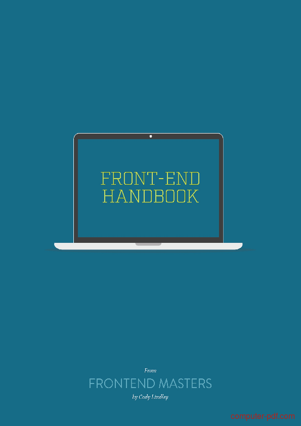 Tutorial Front-End Developer Handbook 1