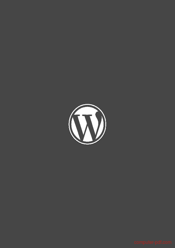 Tutorial WordPress The Right Way 1