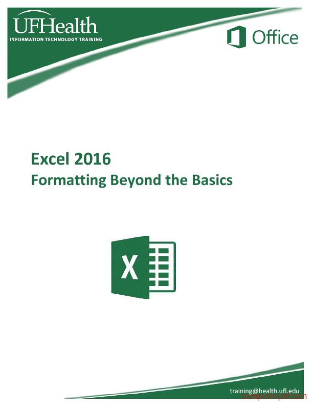 Excel basics pdf 2010 | Peatix