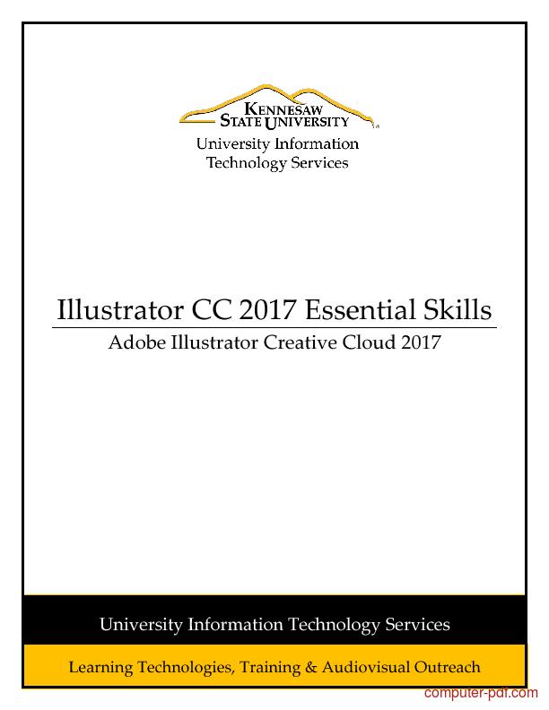 Tutorial Illustrator CC 2017 Essential Skills 1
