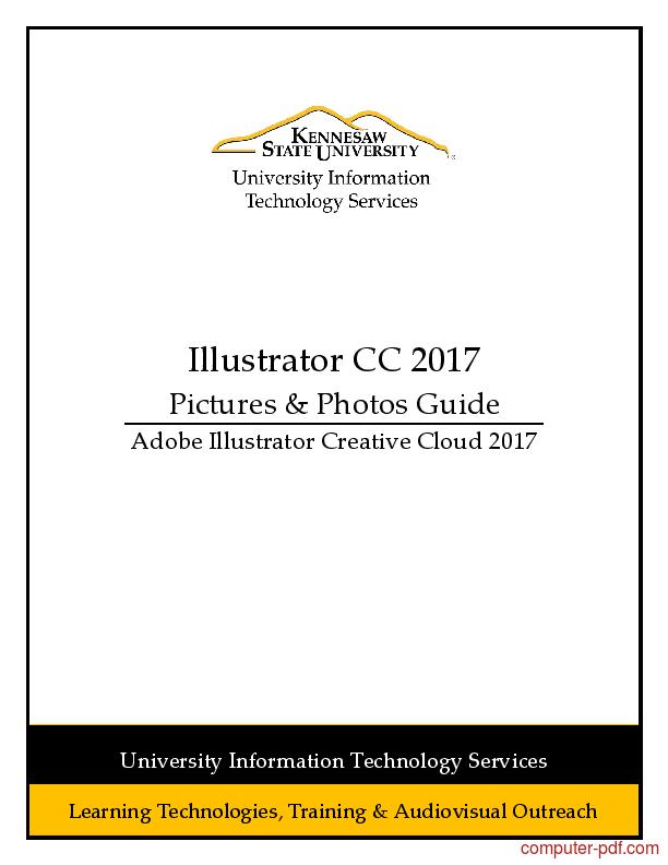 Tutorial Illustrator CC 2017 Pictures & Photos 1