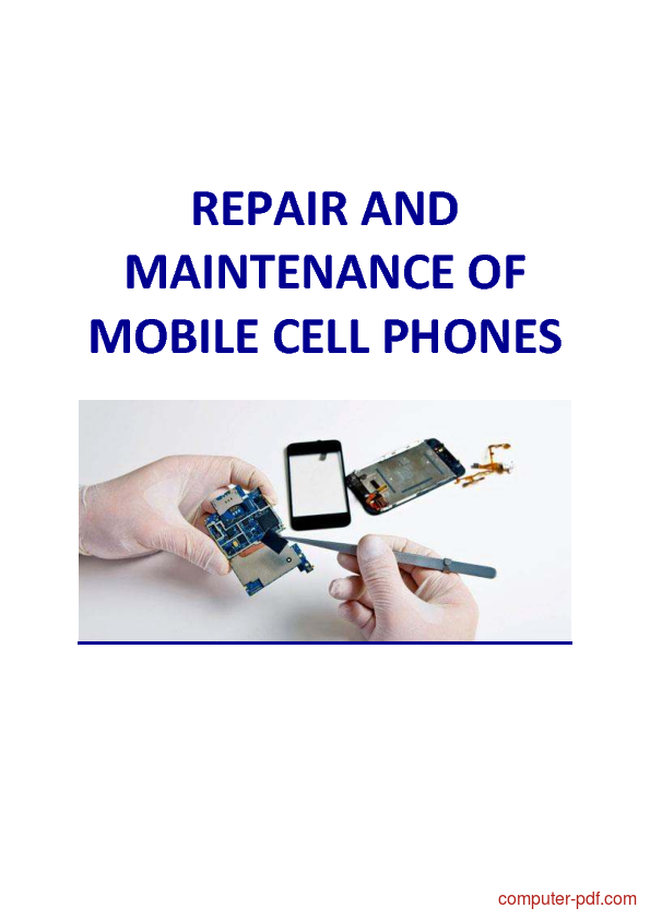 PDF] Mobile Phone Repair and Maintenance free tutorial for