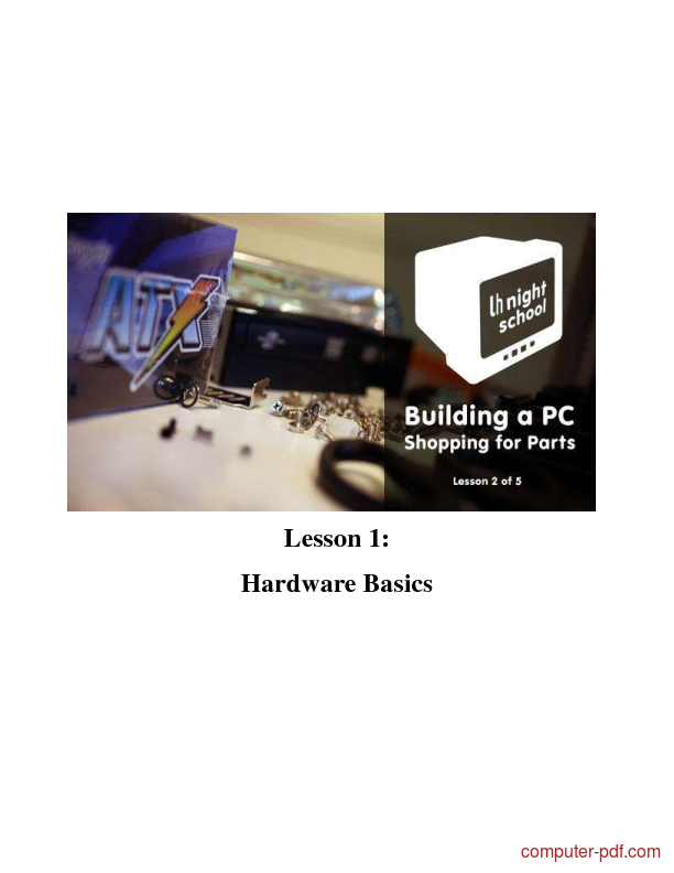 course How to Build a Computer from Scratch