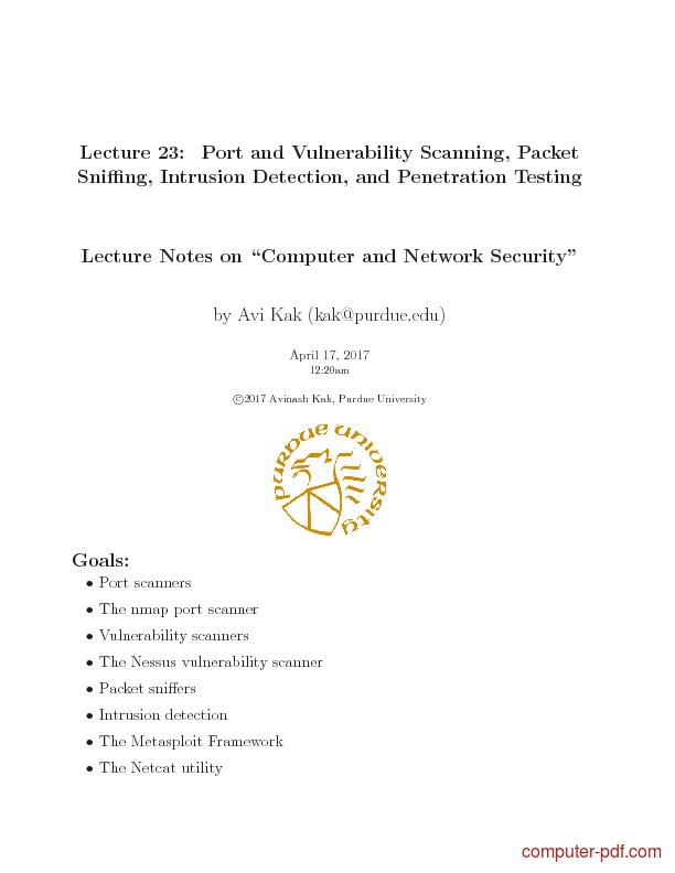 Testing pdf security