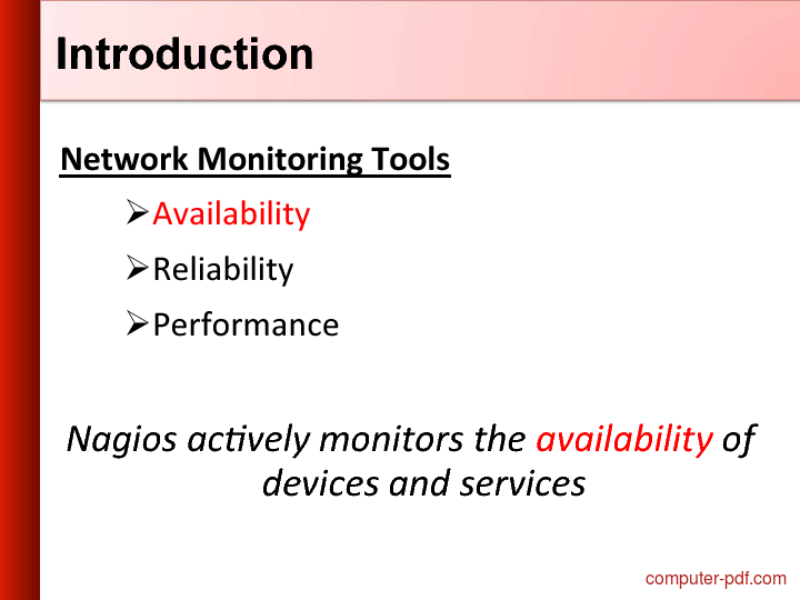 course Nagios - Network Management & Monitoring
