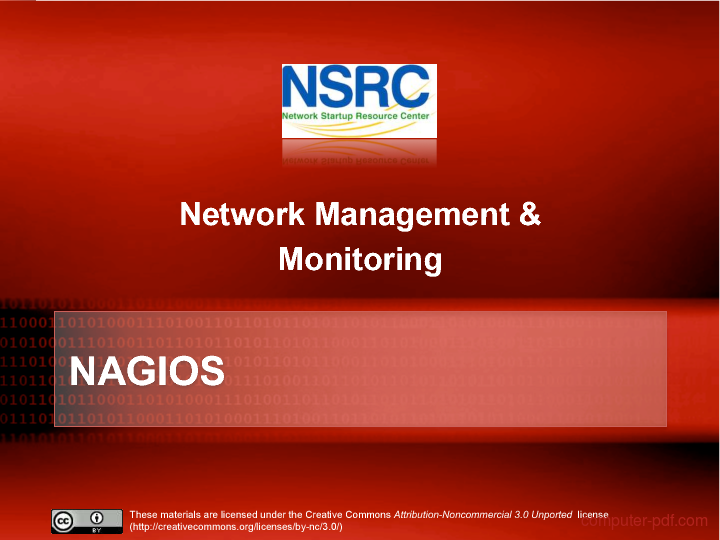 Tutorial Nagios - Network Management & Monitoring 1