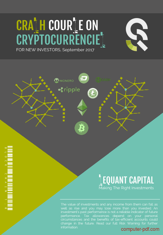 Tutorial Crash course on cryptocurrencies