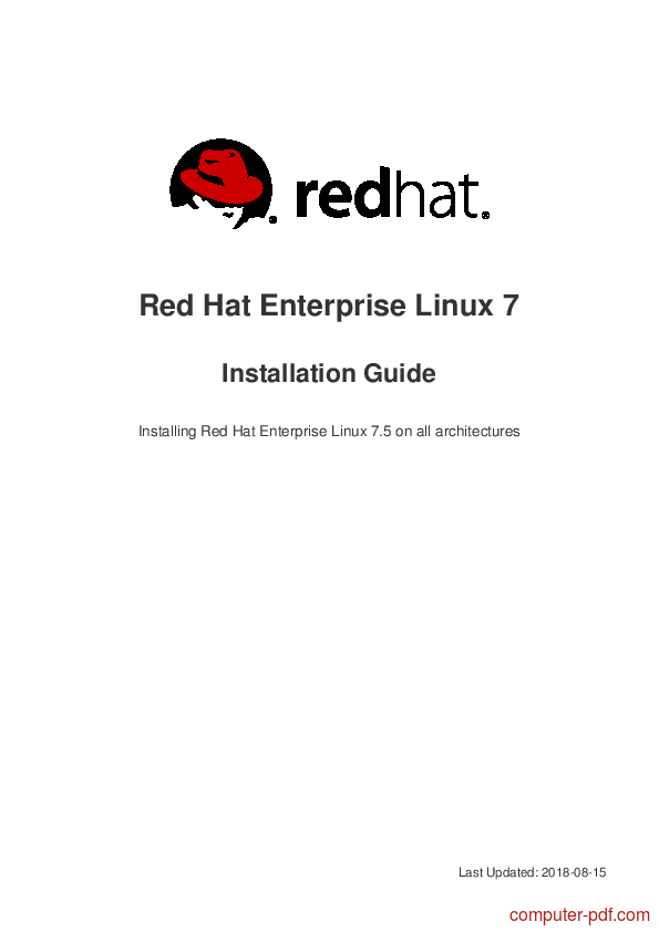 PDF] Red Hat Enterprise Linux 7 Installation Guide free