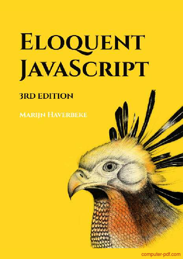 [PDF] Eloquent JavaScript free tutorial for Beginners