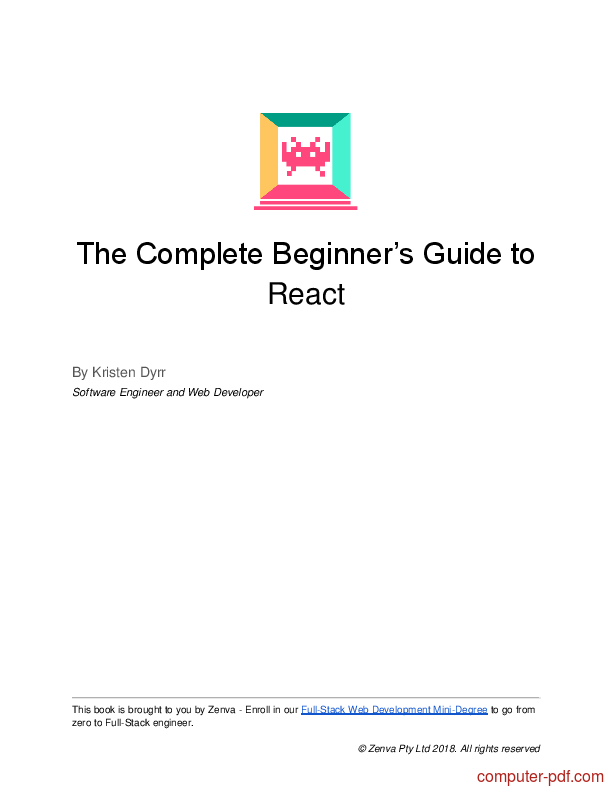 Pdf The Complete Beginner S Guide To React Free Tutorial For Beginners