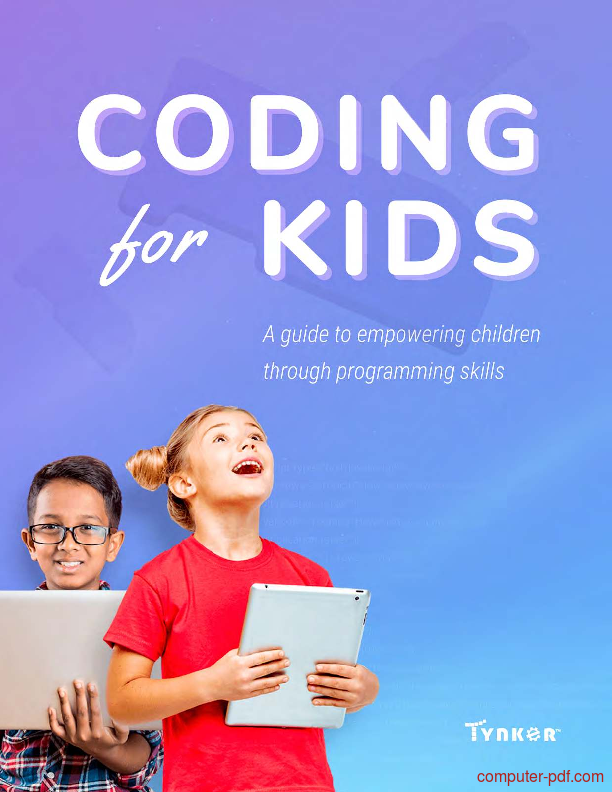 PDF] Coding for kids free tutorial for Beginners