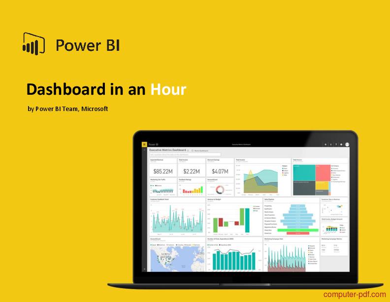 Pdf Power Bi Dashboard In An Hour Free Tutorial For Beginners