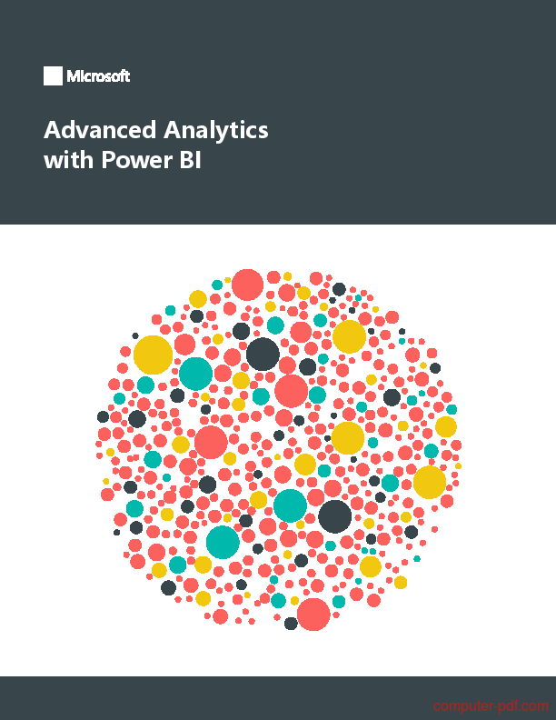 Pdf Analytics With Power Bi Free Tutorial For Beginners