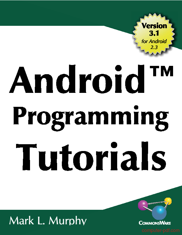 PDF] Android Programming s free tutorial for Beginners