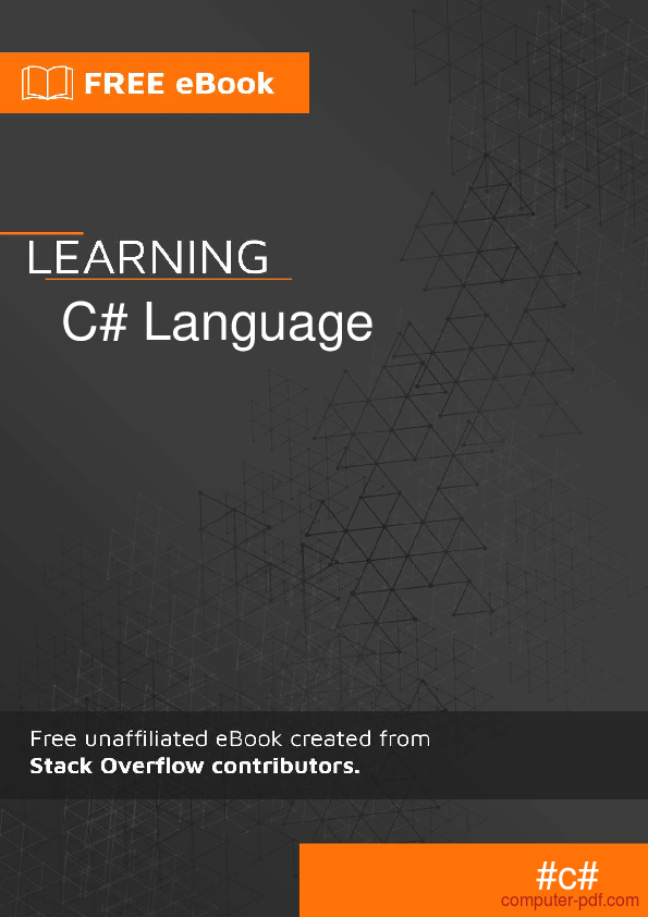 c# tutorial for beginners pdf download