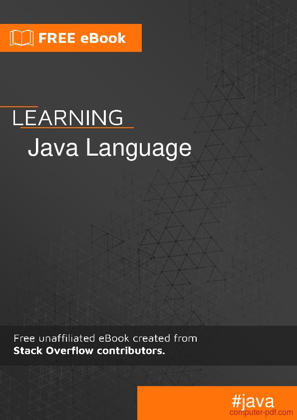 Learning pdf java