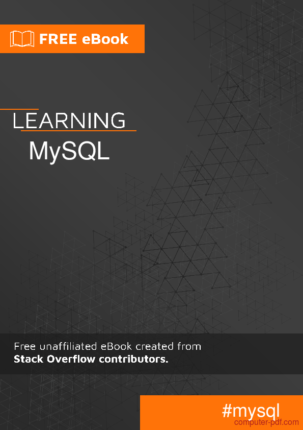 Pdf Learning Mysql Free Tutorial For Beginners