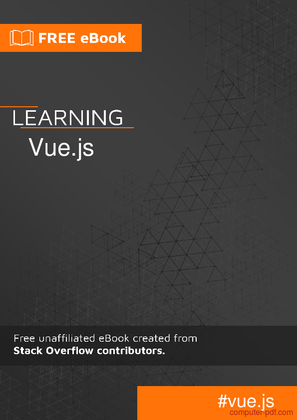 PDF] Learning Vue js free tutorial for Beginners