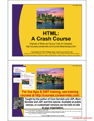 Tutorial HTML a Crash Course