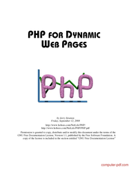 Tutorial PHP for dynamic web pages