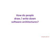 course Design and UML Class Diagrams
