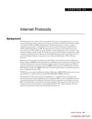 Tutorial Internet Protocols