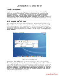 Tutorial Introduction to Mac OS X