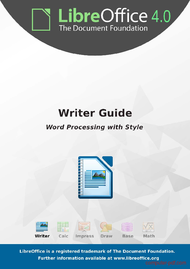 PDF] LibreOffice 4 0 Writer Guide free tutorial for Beginners