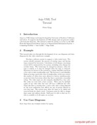 Tutorial Argo UML Tool Tutorial