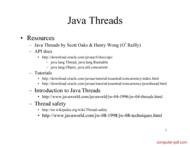 Tutorial Java Threads