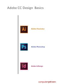 Tutorial Adobe Illustrator Photoshop InDesign Basics