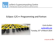 Tutorial Eclipse: C/C++ Programming and Fortran