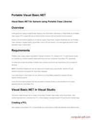 Tutorial Portable Visual Basic.NET