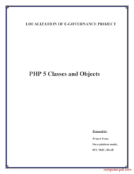 Tutorial PHP 5 Classes and Objects