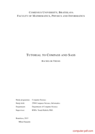 course Tutorial to Compass and Sass