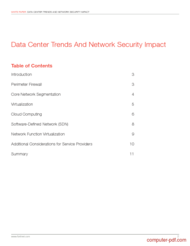 course Data Center Trends And Network Security Impact