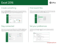course Microsoft Excel 2016 Quick Start Guide